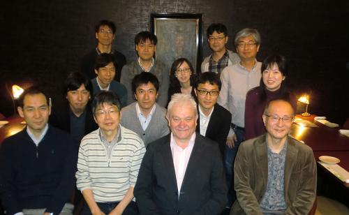 2017年4月、広島大学でのポール・ナース博士の講演会前日