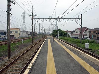 西鉄大牟田線銀水駅