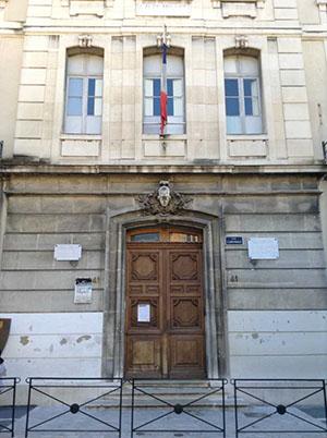 ブルボン中学校(現ミニェ中学校)