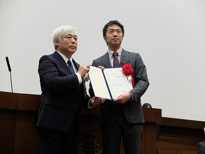 青井議輝准教授が、第26回生物工学論文賞を受賞