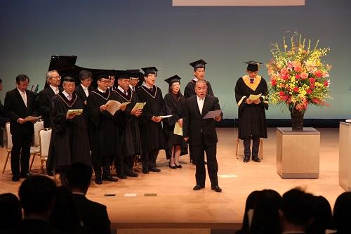 Singing Hiroshima University Song