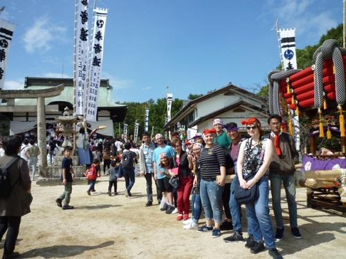 日本の地域に残る伝統的祭りの雰囲気を体験