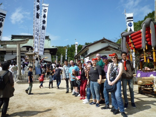 Experiencing the traditional Japanese festival