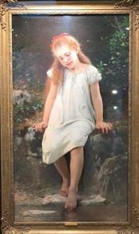 レオン・ジャン・バジル・ペロー「泉の少女」