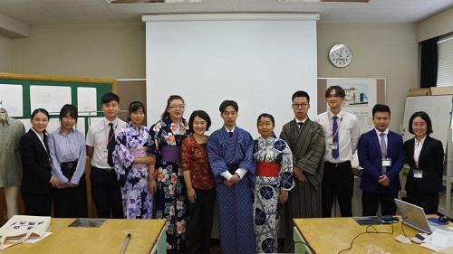 日本の和服体験