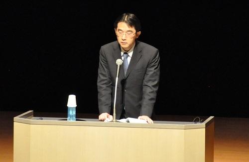 西井課長の来賓あいさつ