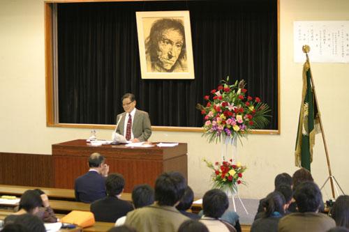 第13回ペスタロッチー教育賞 中野 光 氏に   広島大学