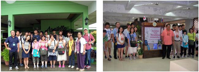 生物生産学部生がビサヤ州立大学での海外演習に参加