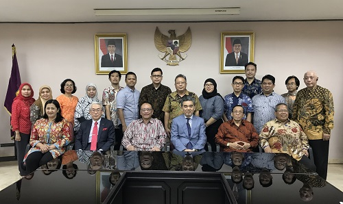 Commemorative Photo in Darma Persada University
