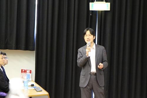 日山准教授の講演