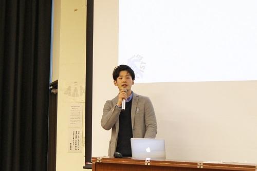 岡崎氏の講演