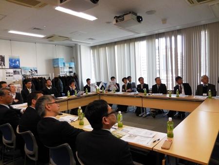 広島大学畜産関連情報交換会の様子