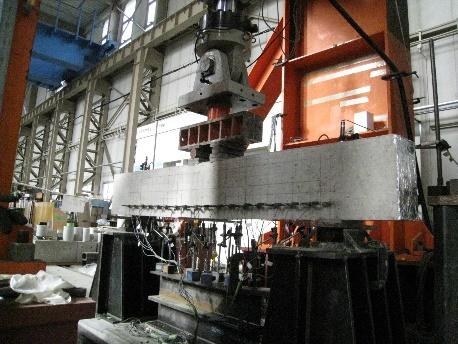 (構造物加力載荷システムの写真)