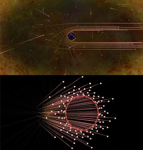 ブラックホールシャドウ説明図
