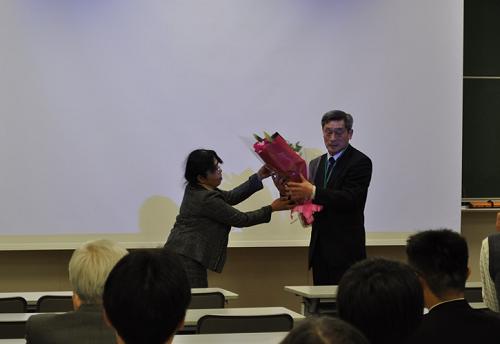 横山新新教授最終講義