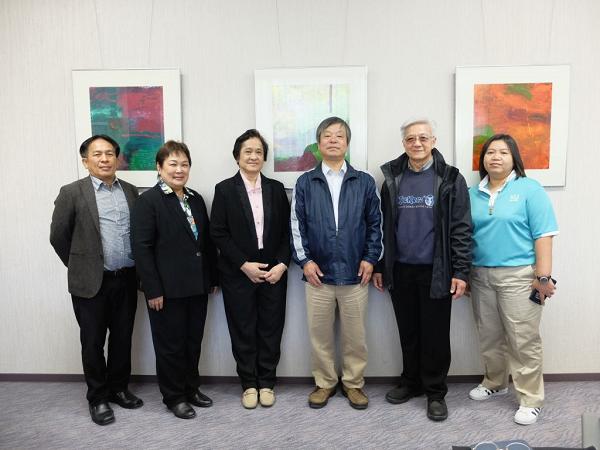 2019年4月17日加藤研究科長を訪問