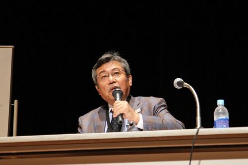弘兼憲史氏が講演しました