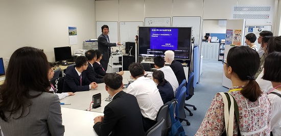 广岛大学残疾学生支援中心见学
