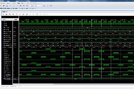 (FPGA回路シミュレータの写真)