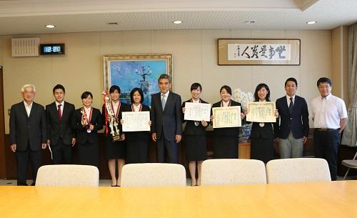广岛大学体育会女子剑道部
