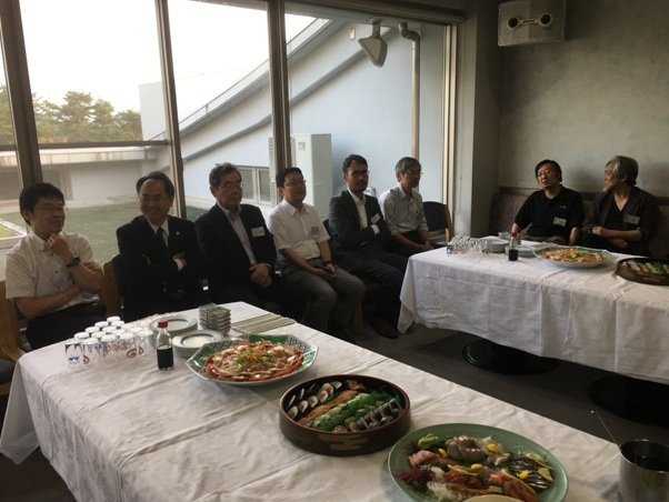 参加教員の写真