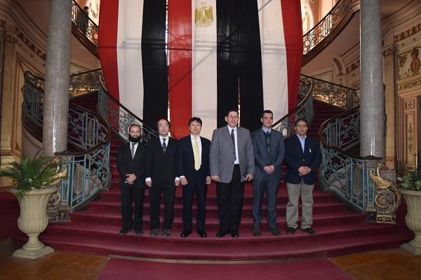 2018年12月に行われた国際シンポジウム(カイロ・Ain Shams 大学)