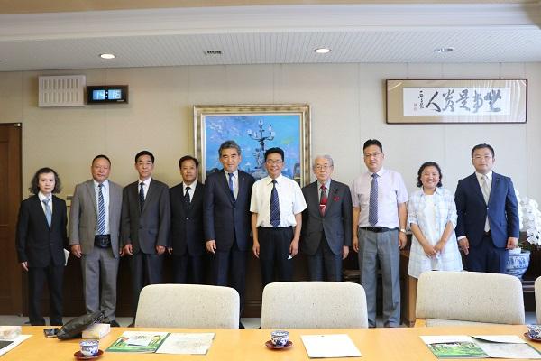 中国・青海民族大学 王副学長らが来学されました