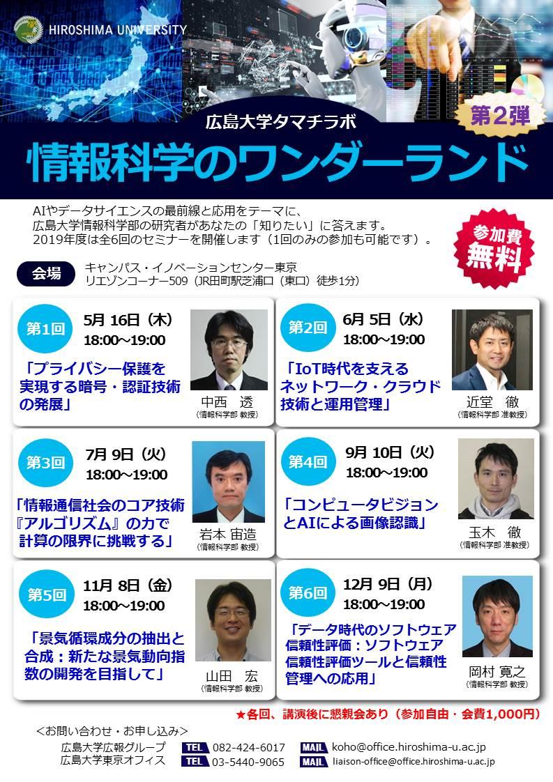 広島大学タマチラボ2019