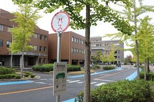 Hiroshima University Loop Bus Stop on campus