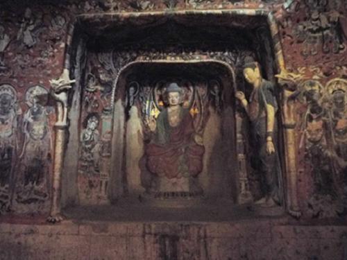 莫高窟第57窟のスーパークローン文化財