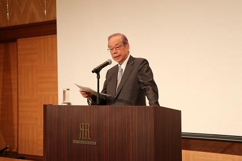 福田元内閣総理大臣による基調講演