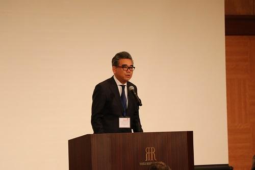 Hiroshima University President, Mitsuo Ochi