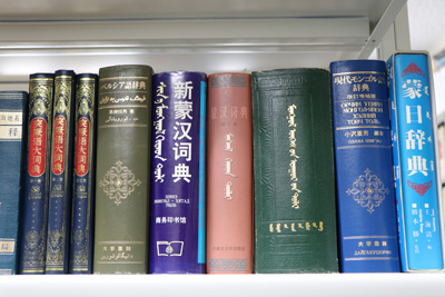Dictionaries of various languages to help read historical materials in foreign languages