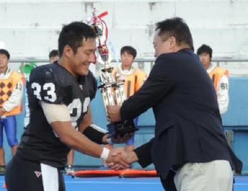 体育会アメフト部ラクーンズが中四国リーグで優勝、全日本選手権に出場します