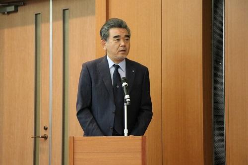 President Ochis's welcoming remarks