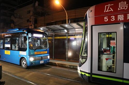 自動運転バスの公道実証実験を行いました