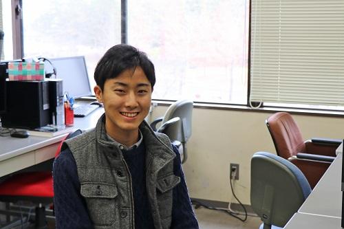 代表学生に選ばれた石川さん