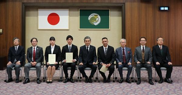 令和元年度広島大学冠事業基金奨学金授与式