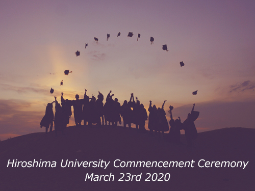 The 2019 Commencement Ceremony on 23rd March 2020