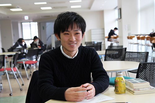 留学について語る古木さん