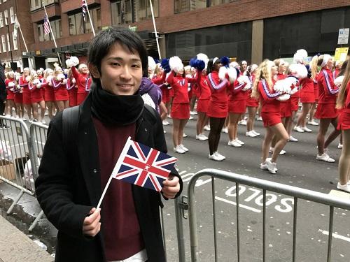 イギリスの新年のパレード