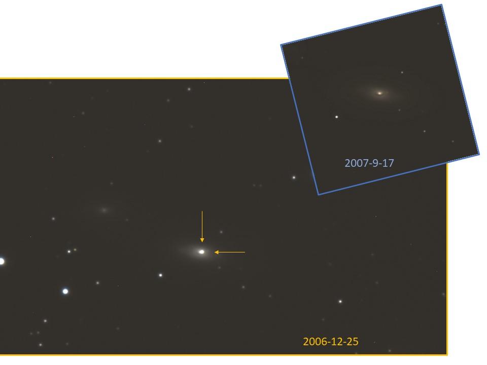 超新星 SN 2006gy の画像