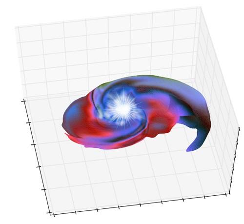 SN 2006gyの想像図