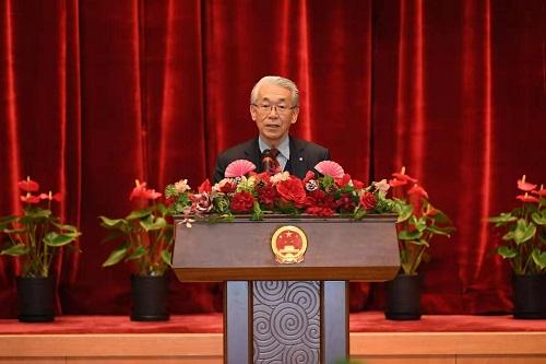 中国驻日本使馆日本人专家座谈会