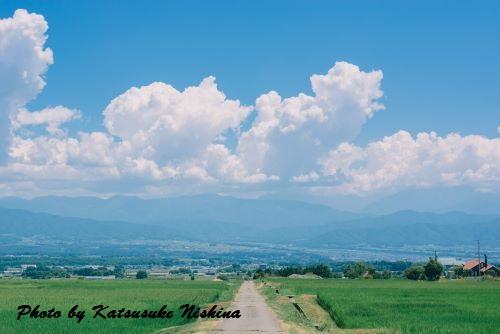 長野県の入道雲