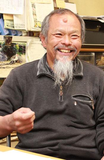 広島大学の良さについて語る都築教授