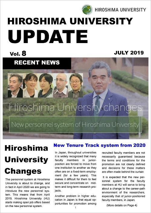 HIROSHIMA UNIVERSITY UPDATE July 2019 Issue