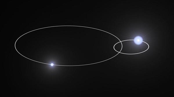 The orbital paths of Eta Carinae
