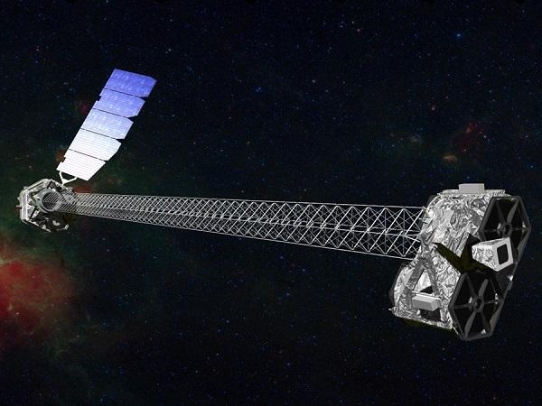 Artist's concept of the NuSTAR satellite