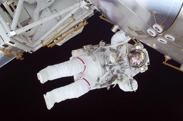 Gravity in spaceflight affects muscle development of astronauts.